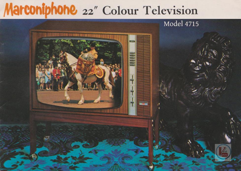 1974 Marconiphone Colour B&W Brochure 12