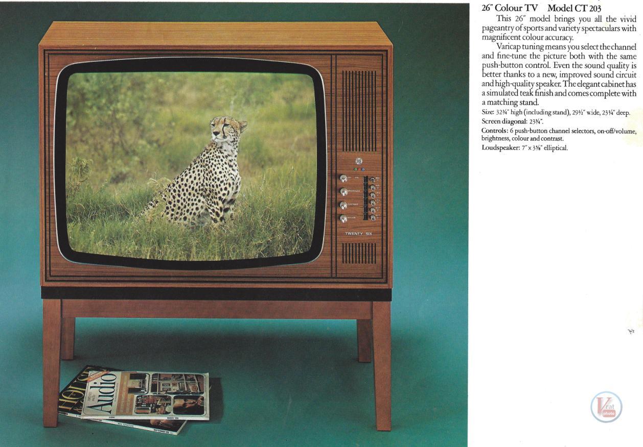 Sony Tv Repair >> PYE - Radios-TV