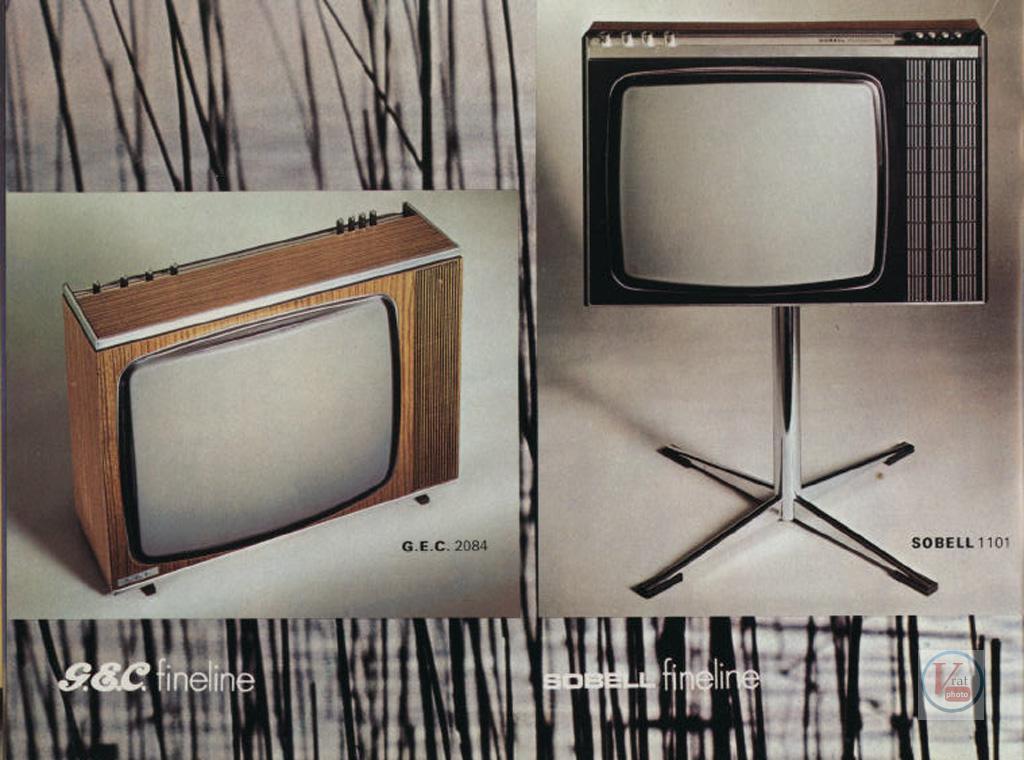 Early 1970's GEC Monochrome sets | Radios-TV
