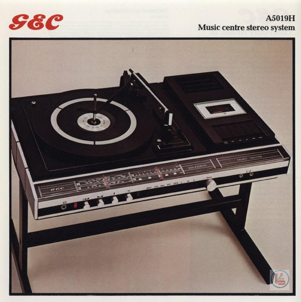 Gec Music Centre Range Radios Tv