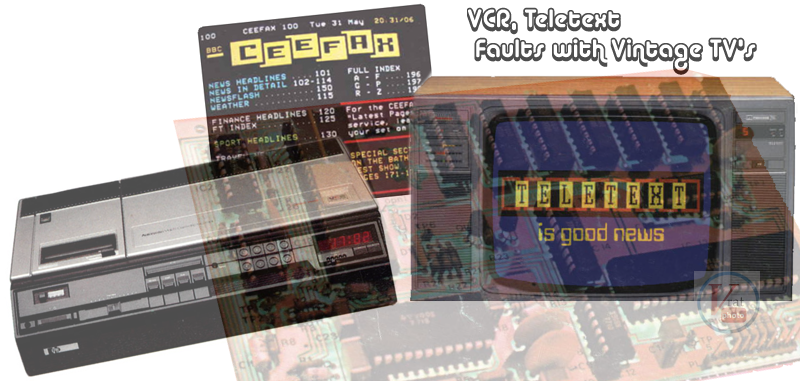 Remove Teletext Lines & VCR Problems 6