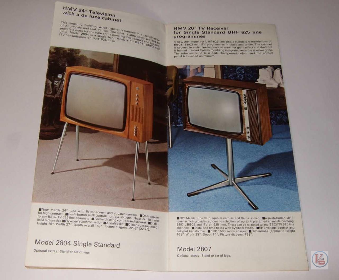 HMV B&W TV's 75