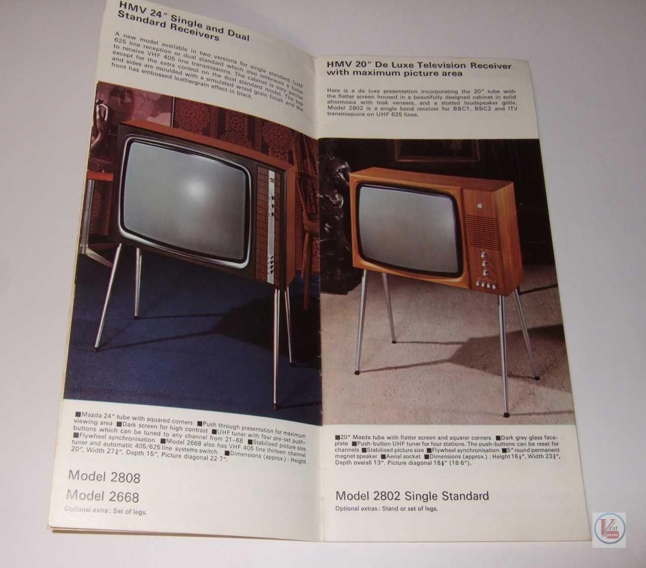 HMV B&W TV's 76