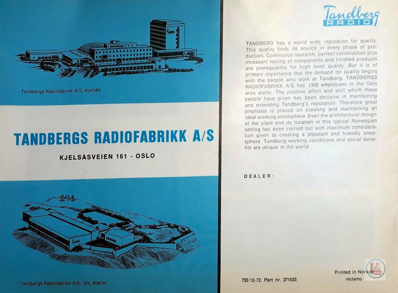 Tandberg 38