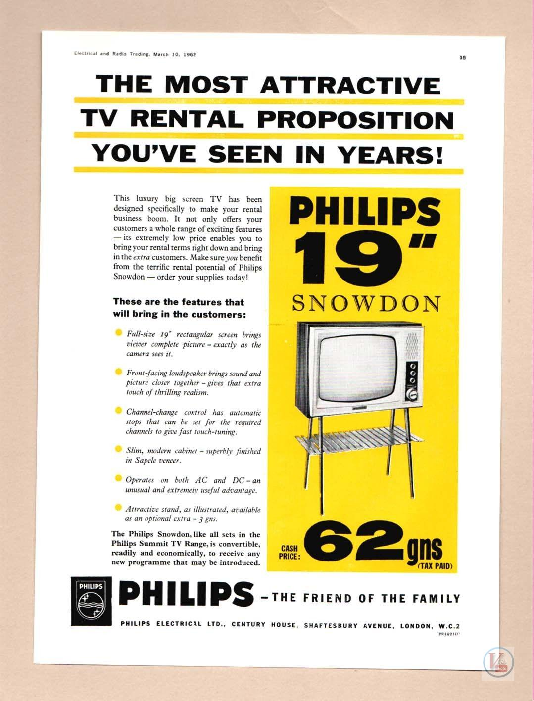 B&W TV Set Ad's 12