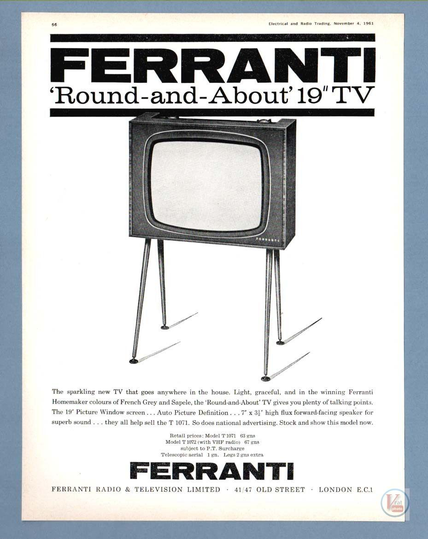 B&W TV Set Ad's 5