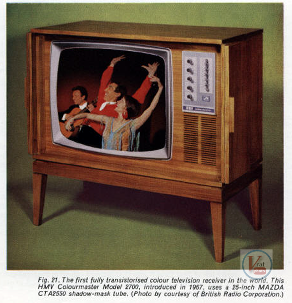BRC/Thorn 2000: Worlds First all Transistor Colour Television 4