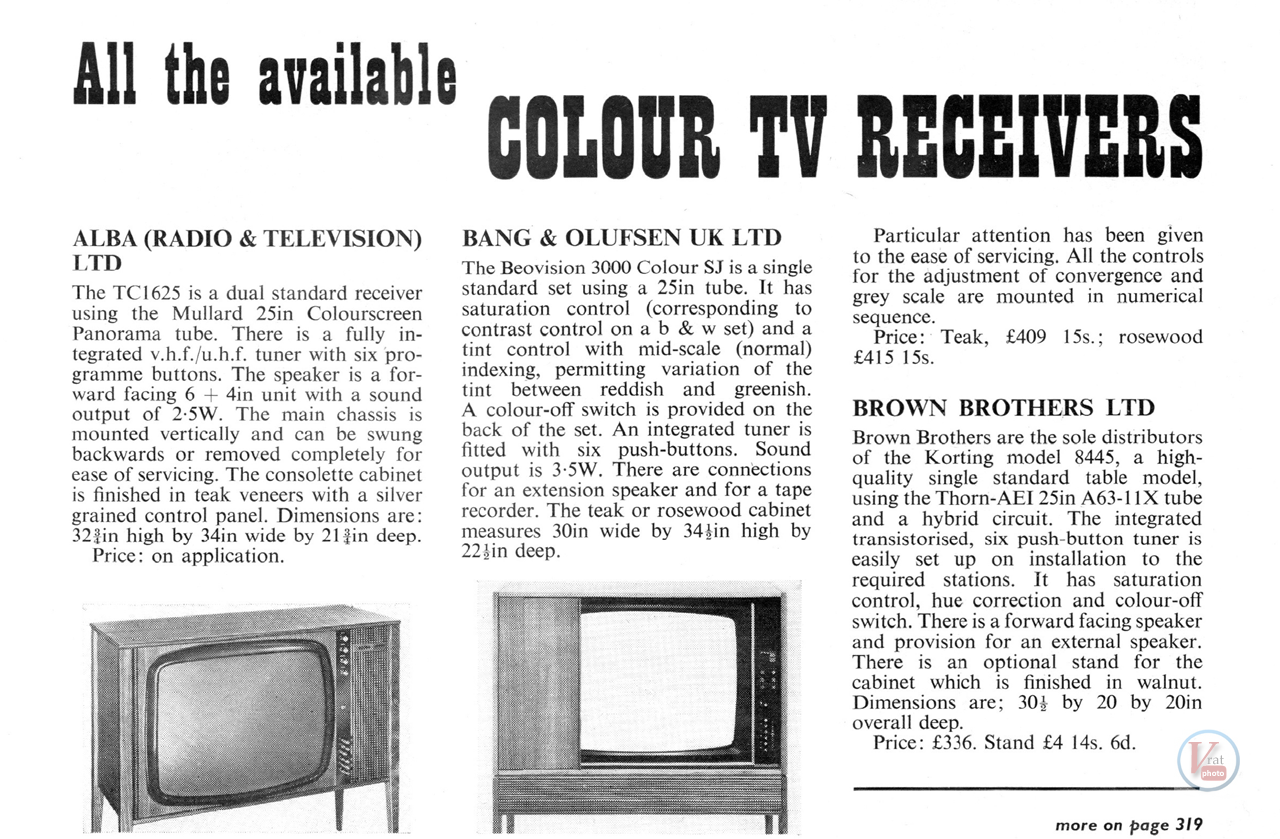 R-E-R The Colour Sets 1969 21