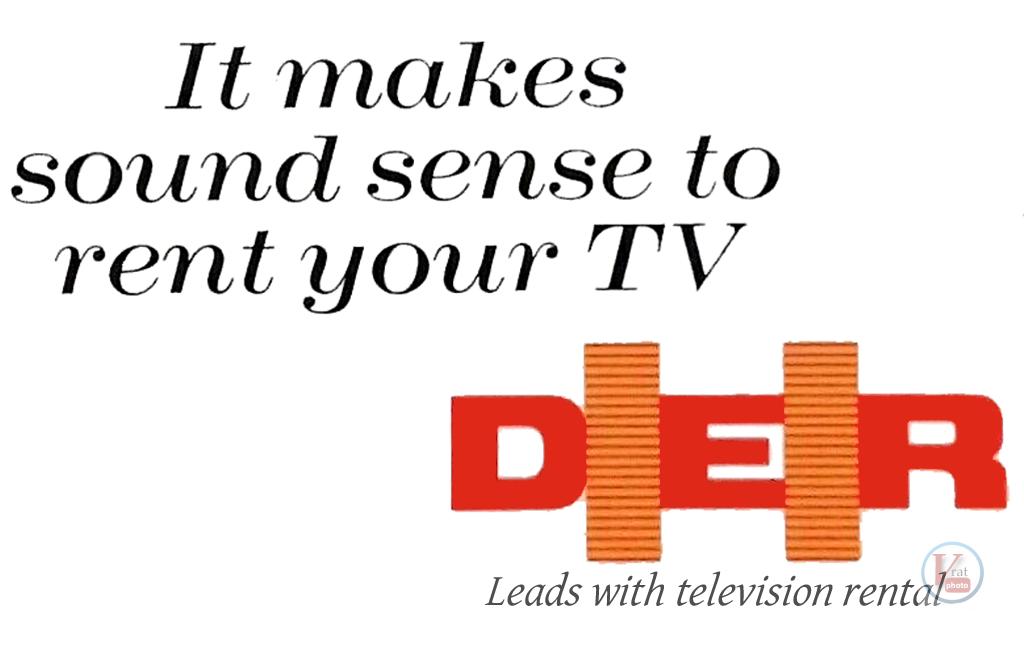 D|E|R B&W TV's 7