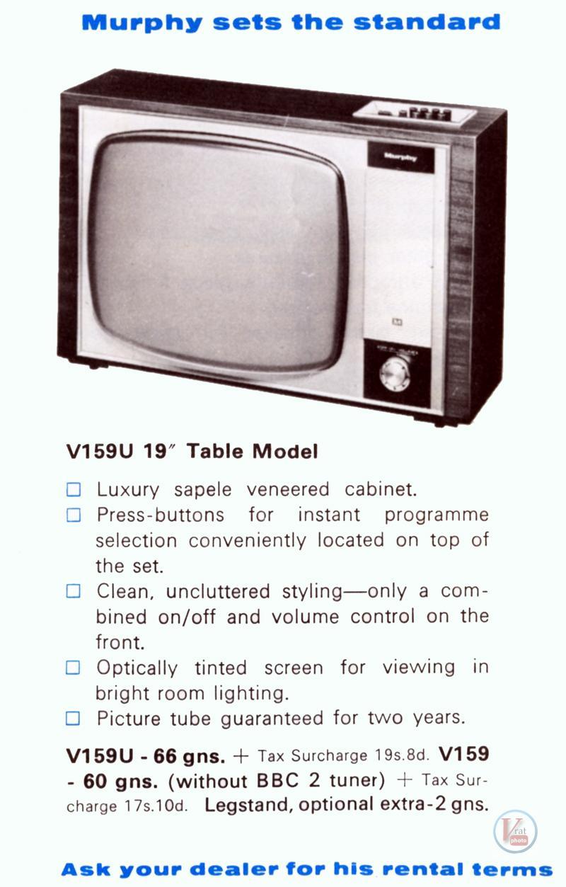 Murphy B&W TV's 83