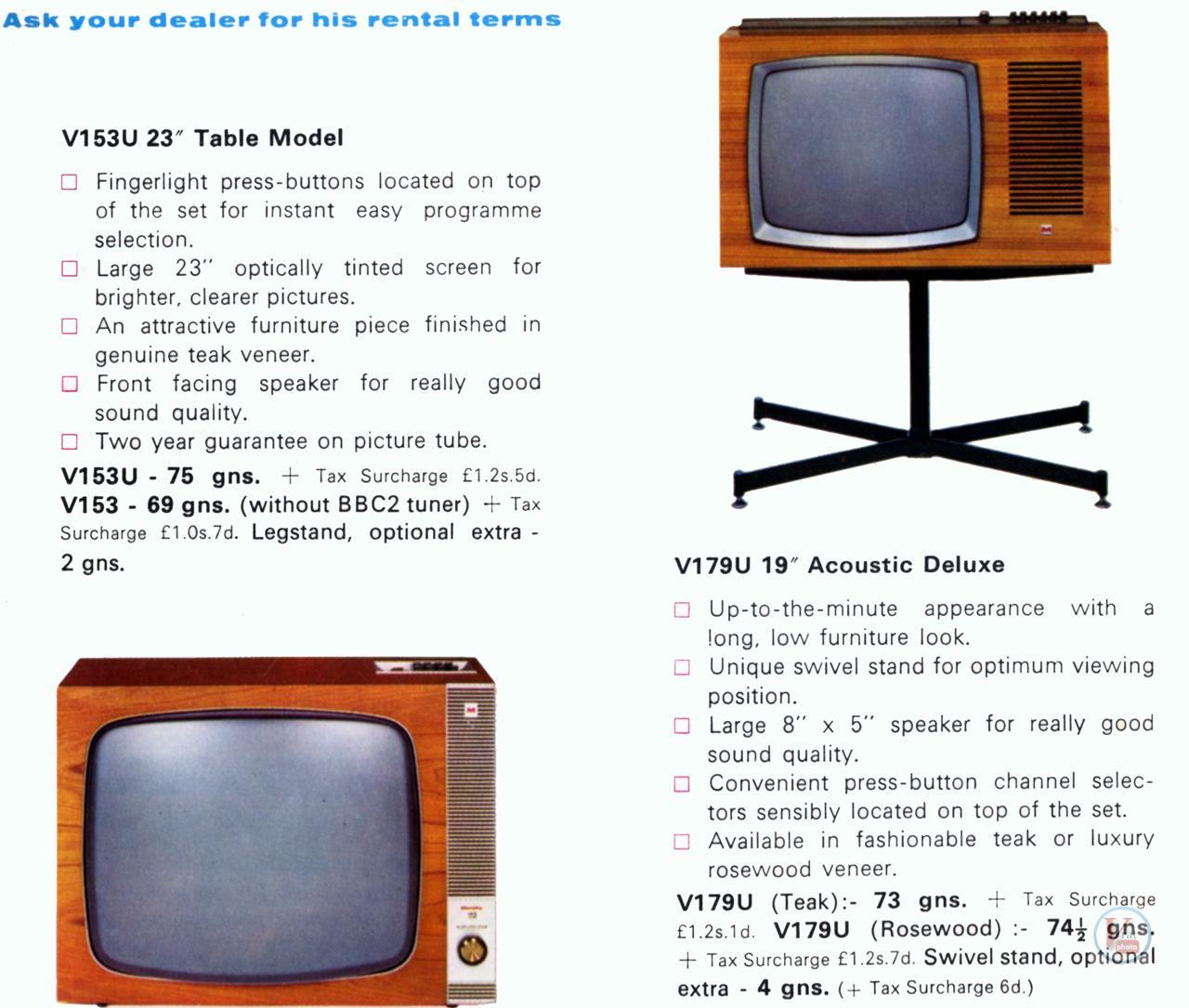 Murphy B&W TV's 84