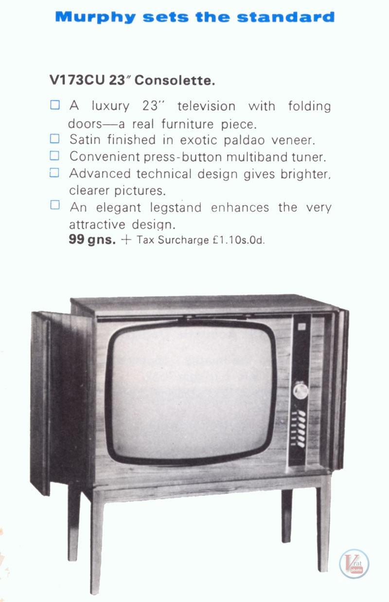 Murphy B&W TV's 85