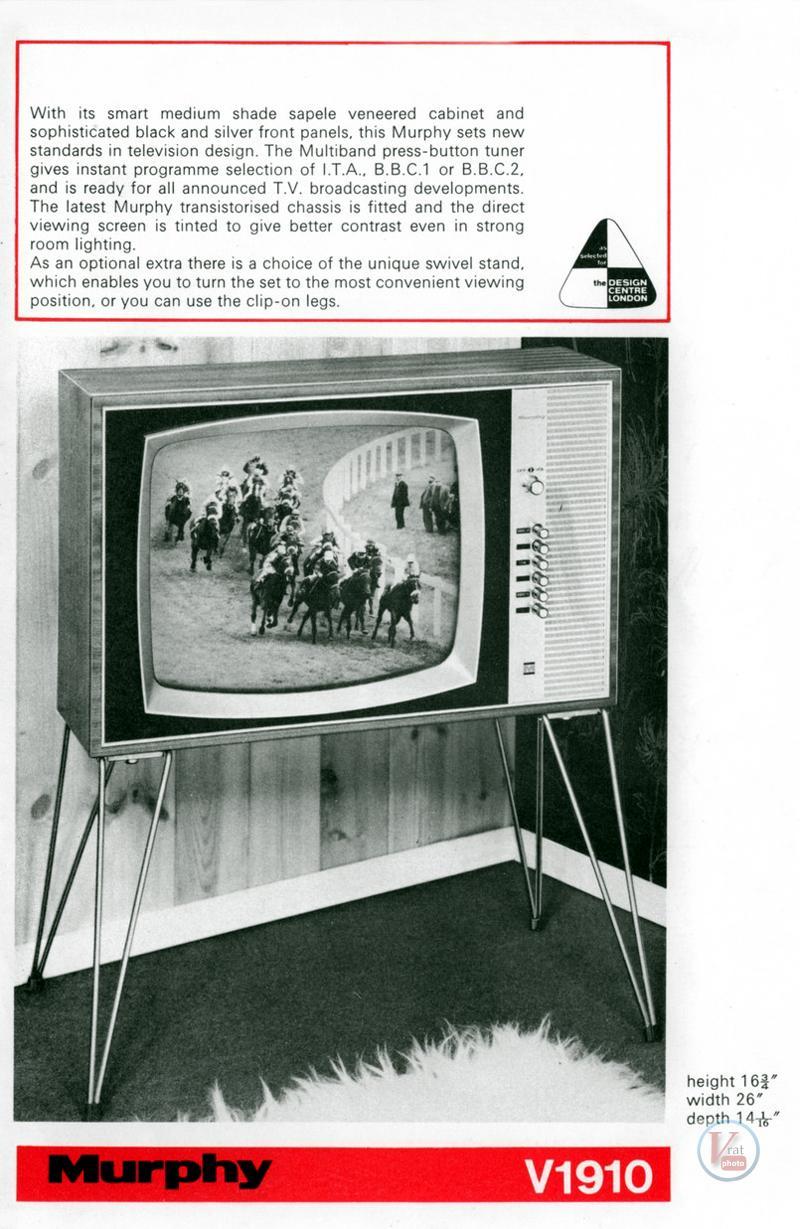 Murphy B&W TV's 86