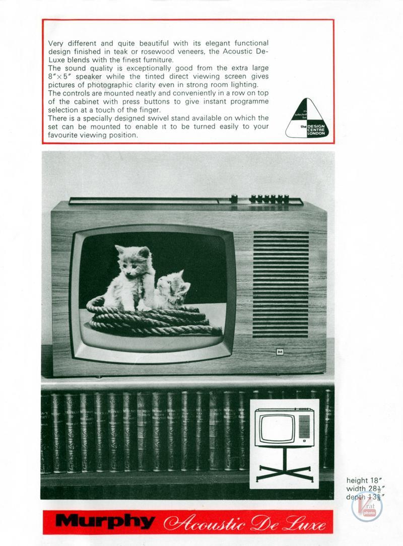Murphy B&W TV's 88