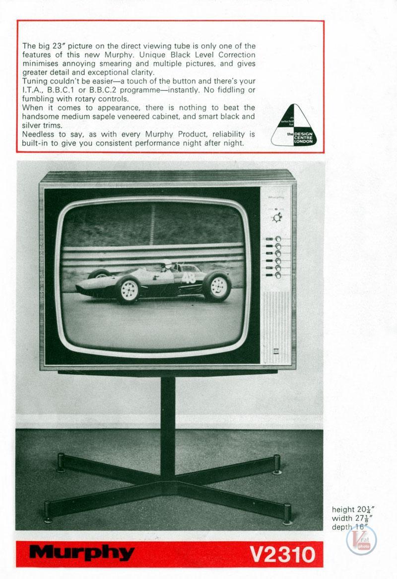 Murphy B&W TV's 89