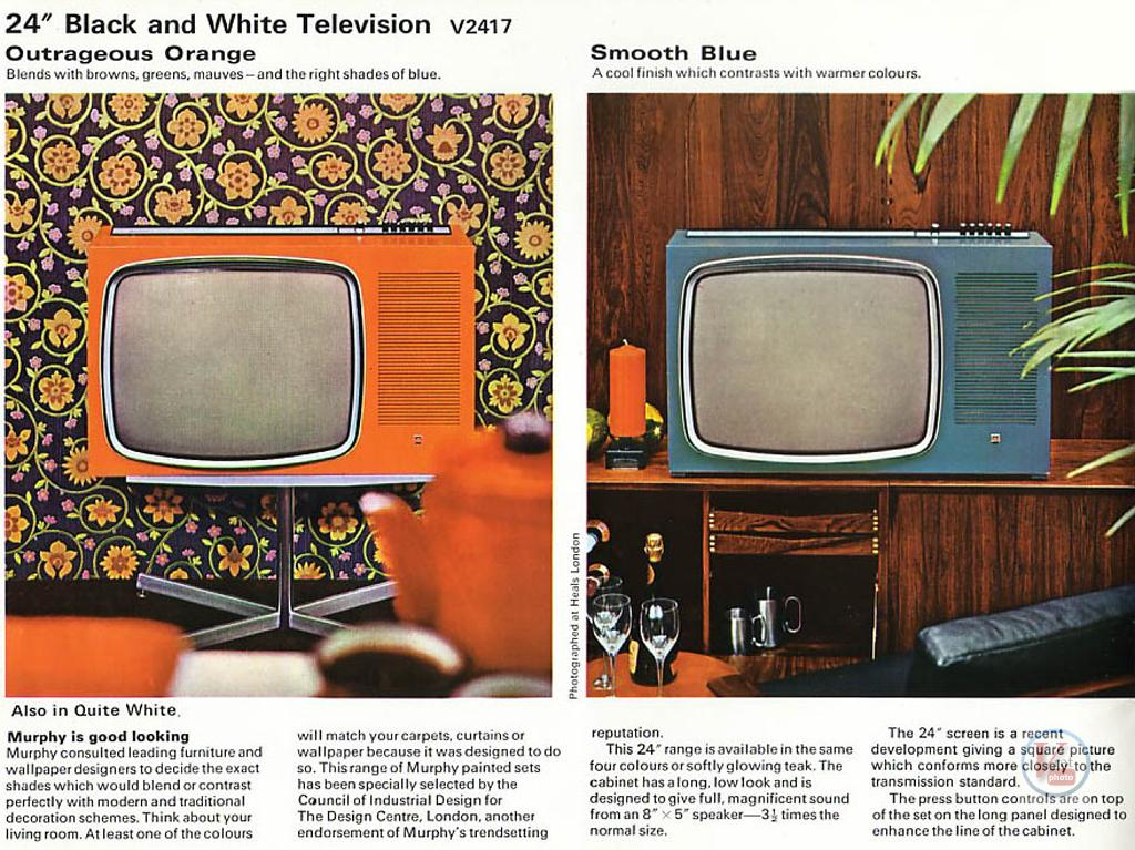 Murphy B&W TV's 90