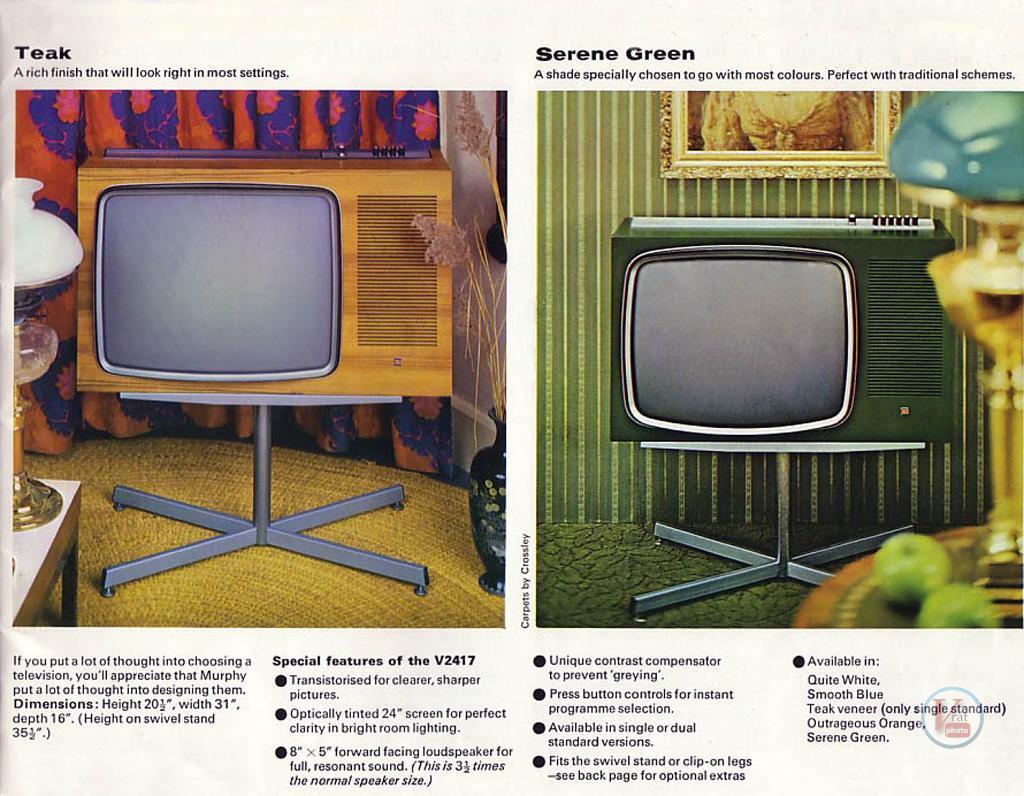 Murphy B&W TV's 91