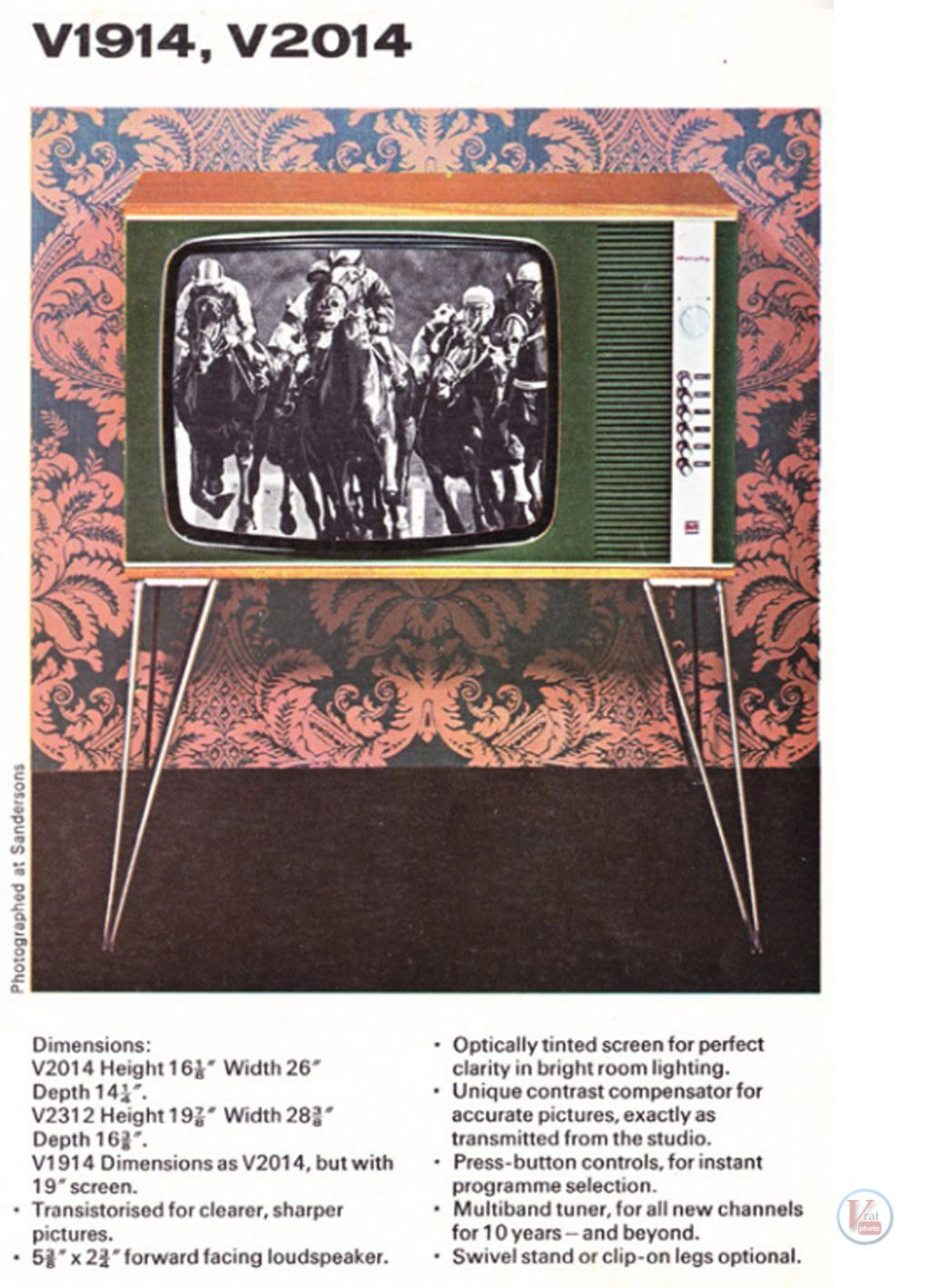 Murphy B&W TV's 87