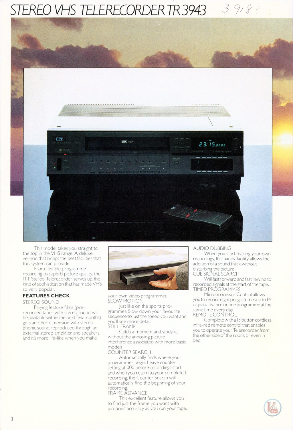 ITT Video Recorders 3