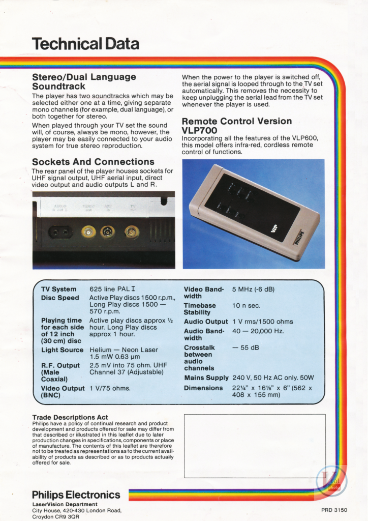 Philips LaserVision 15