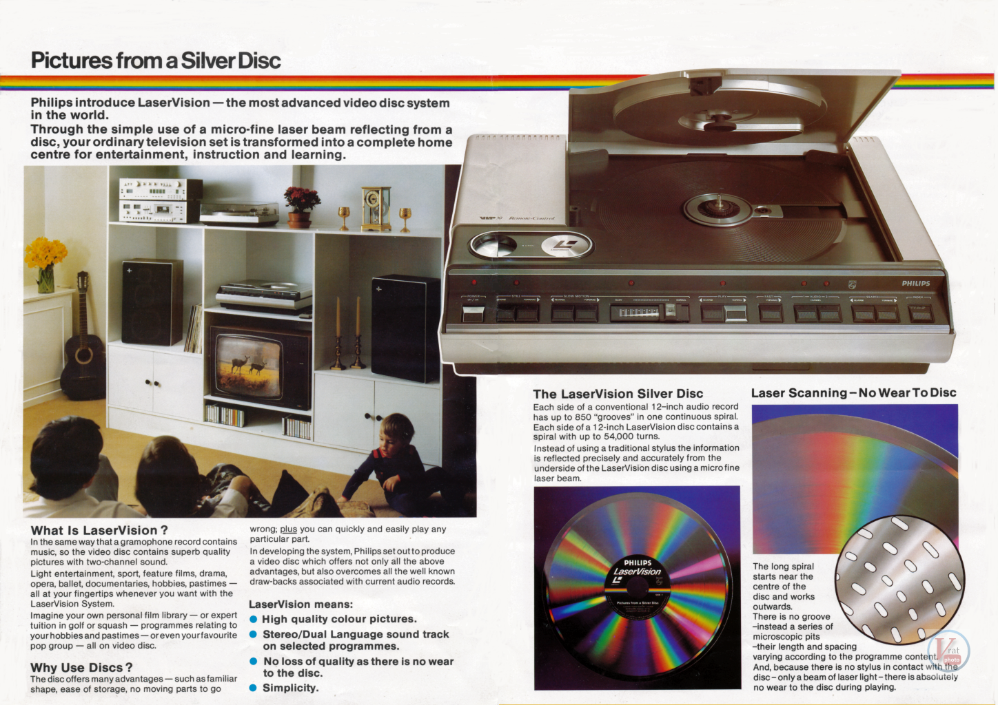 Philips LaserVision 12