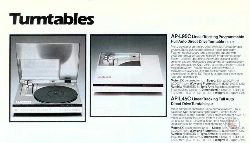 AKAI Turntables 14