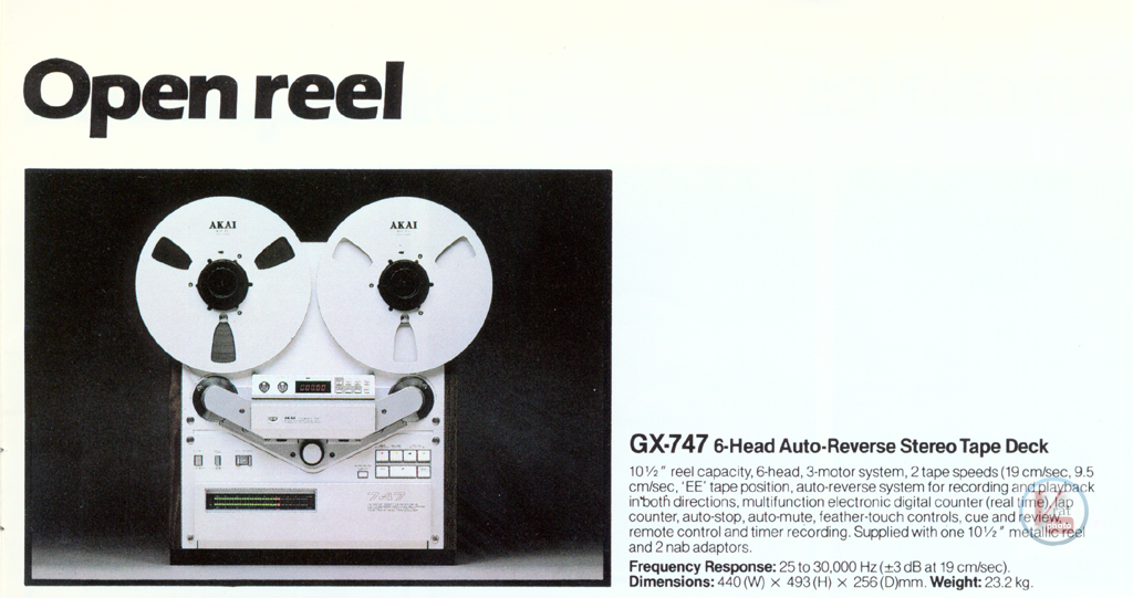 AKAI Reel-to-Reel 17