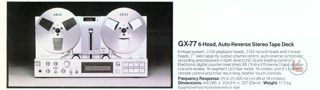 AKAI Reel-to-Reel 18