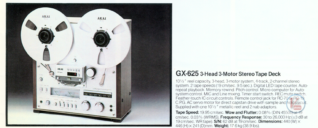 AKAI Reel-to-Reel 19
