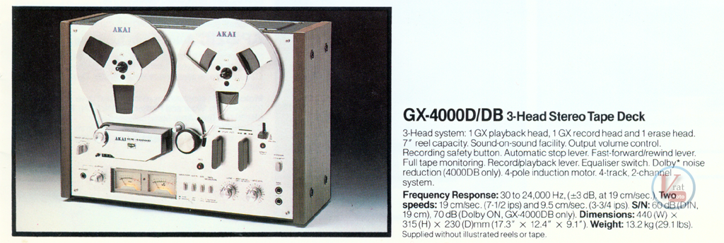 AKAI Reel-to-Reel 20