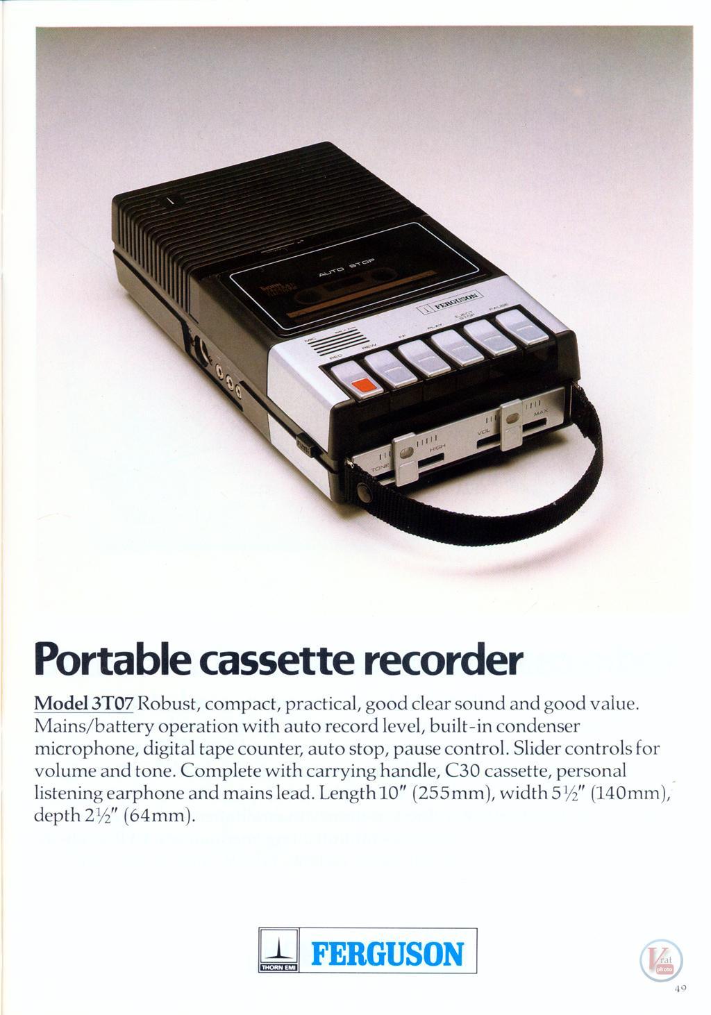 Ferguson Cassette 24