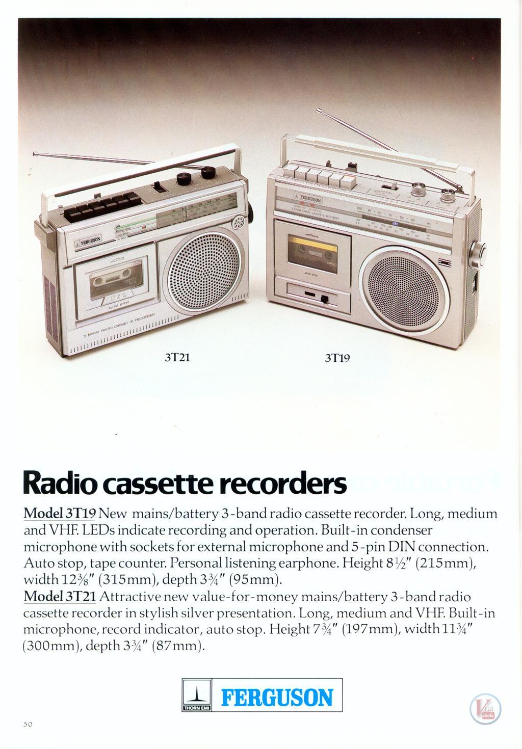 Ferguson Cassette 25
