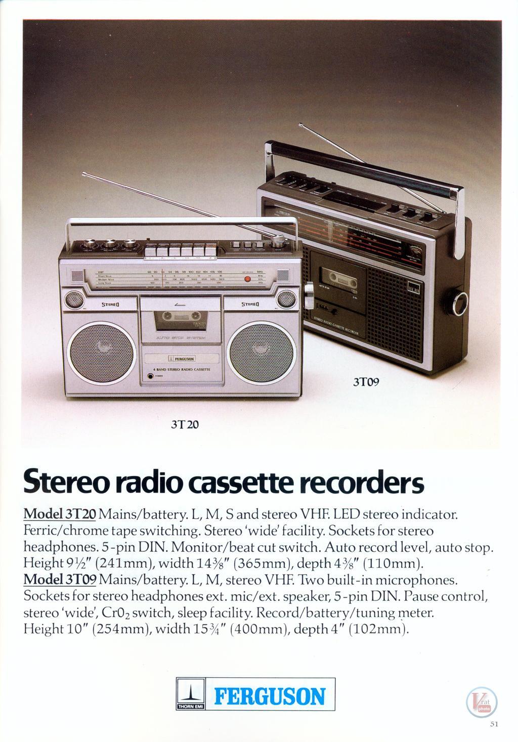 Ferguson Cassette 26