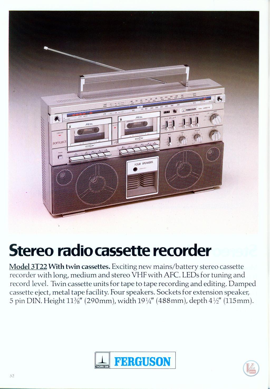 Ferguson Cassette 27