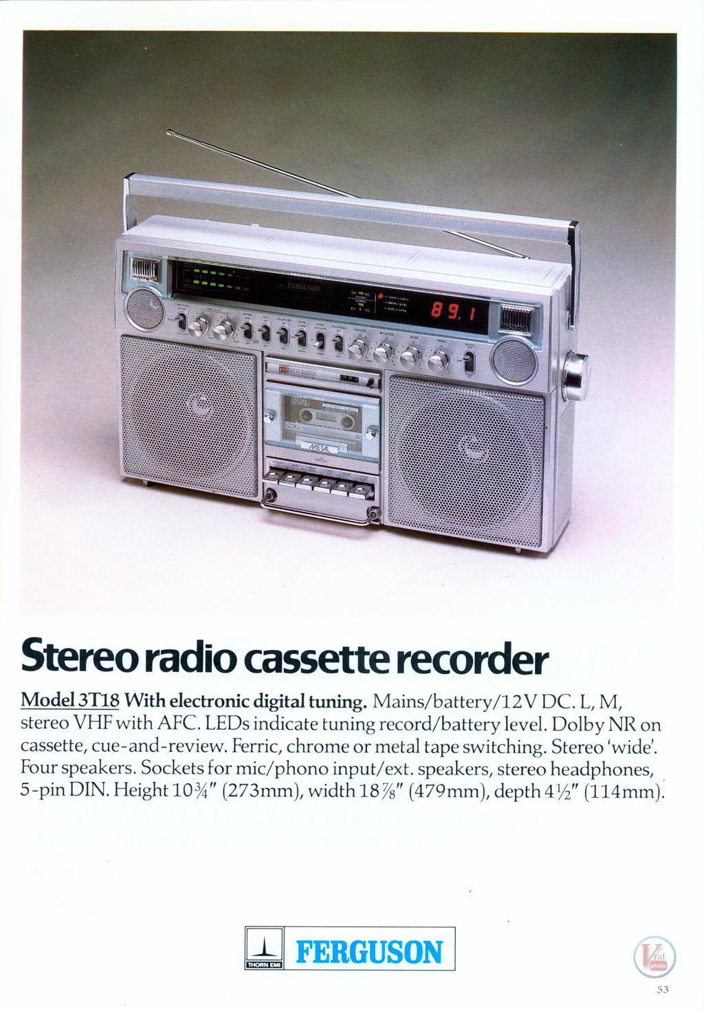 Ferguson Cassette 28