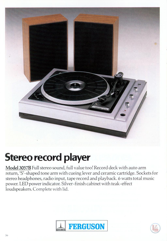 Ferguson Record Deck 8