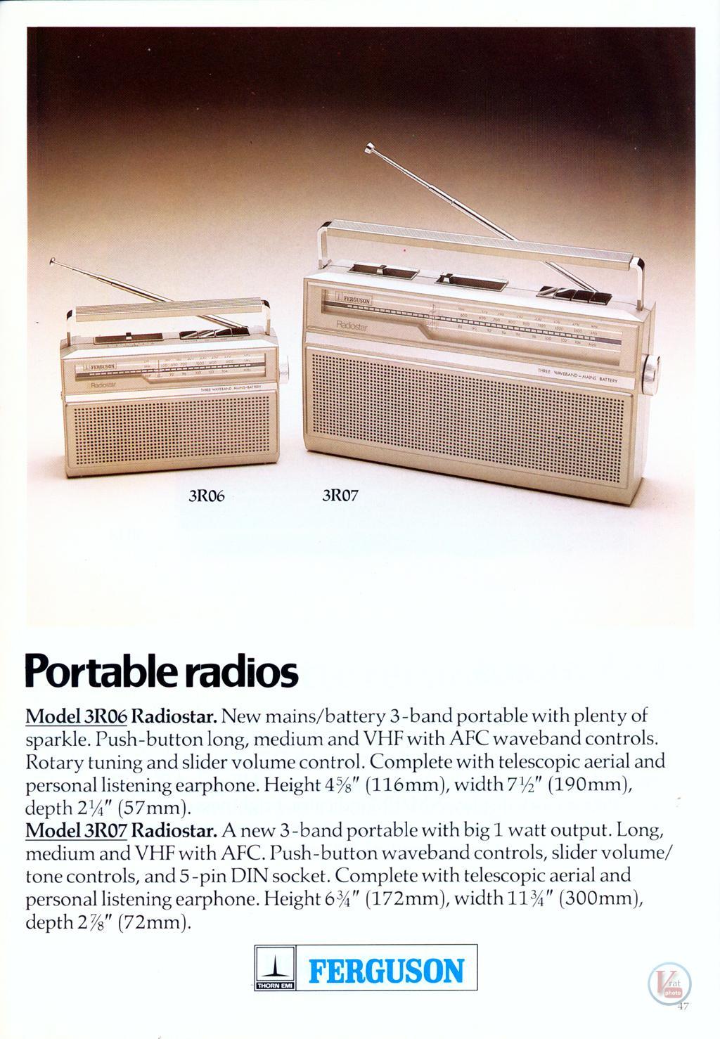 Ferguson Radio 15