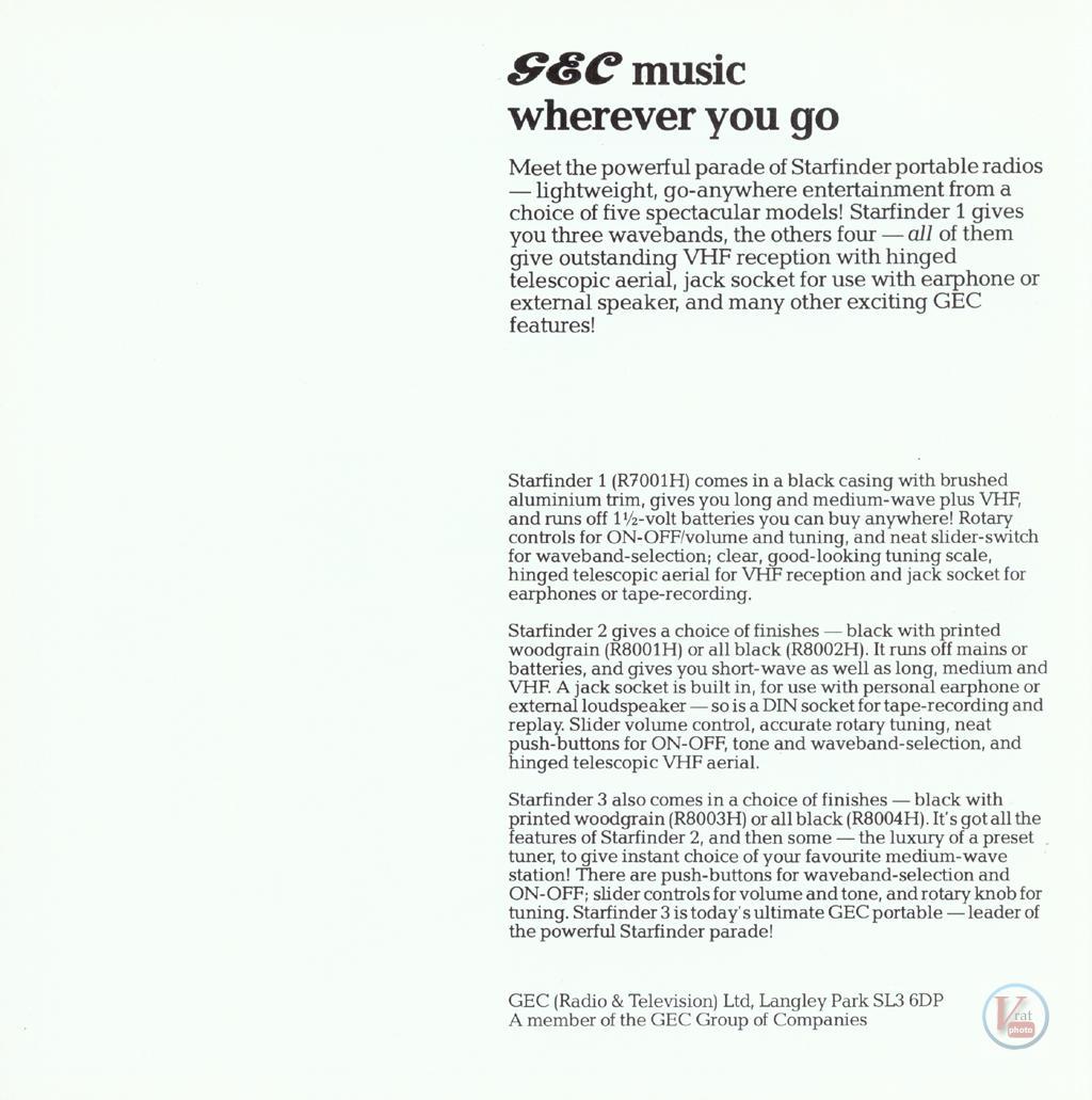 GEC Radio 14