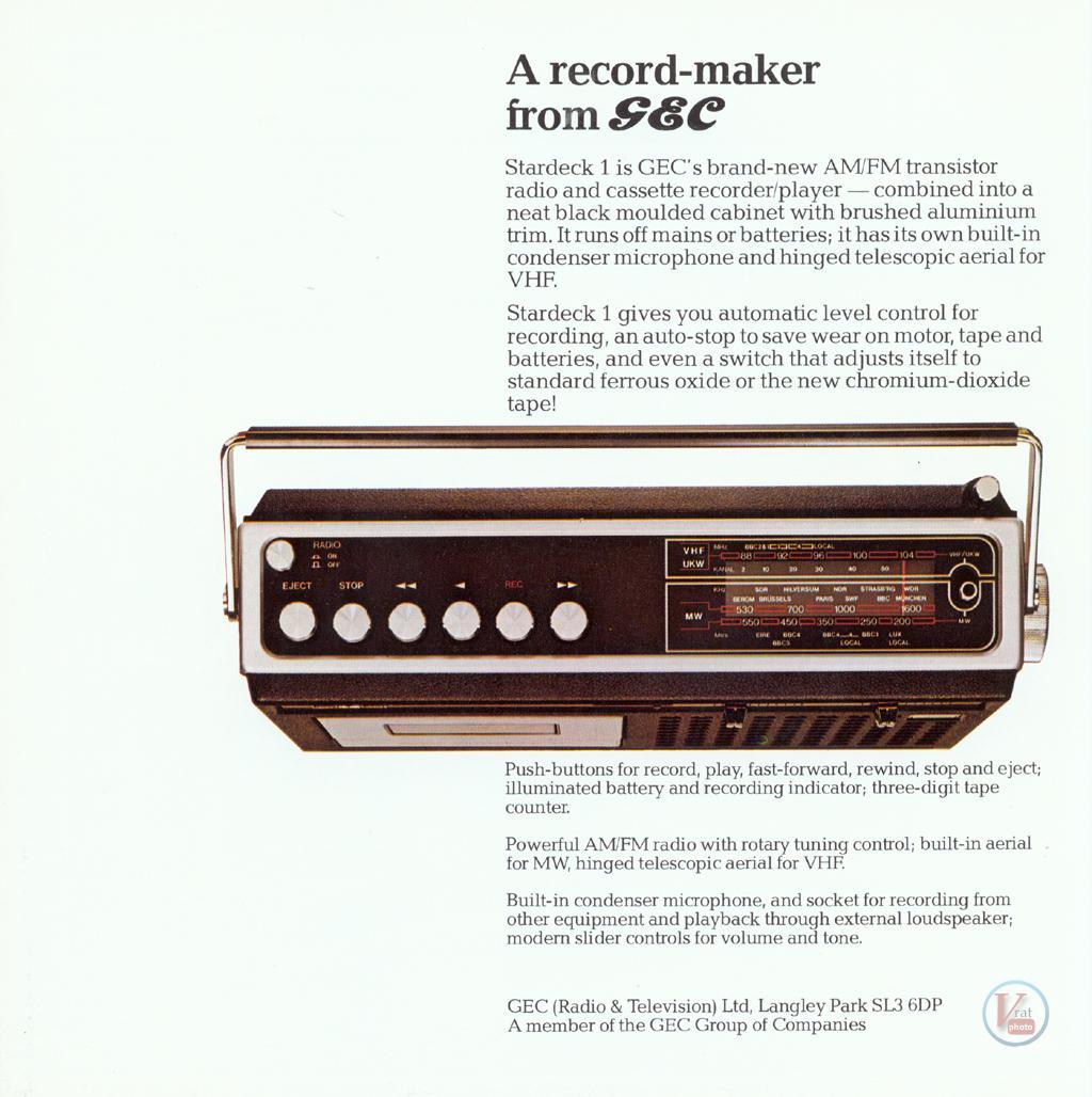 GEC Radio 16