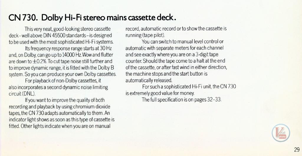 Grundig Cassette 52