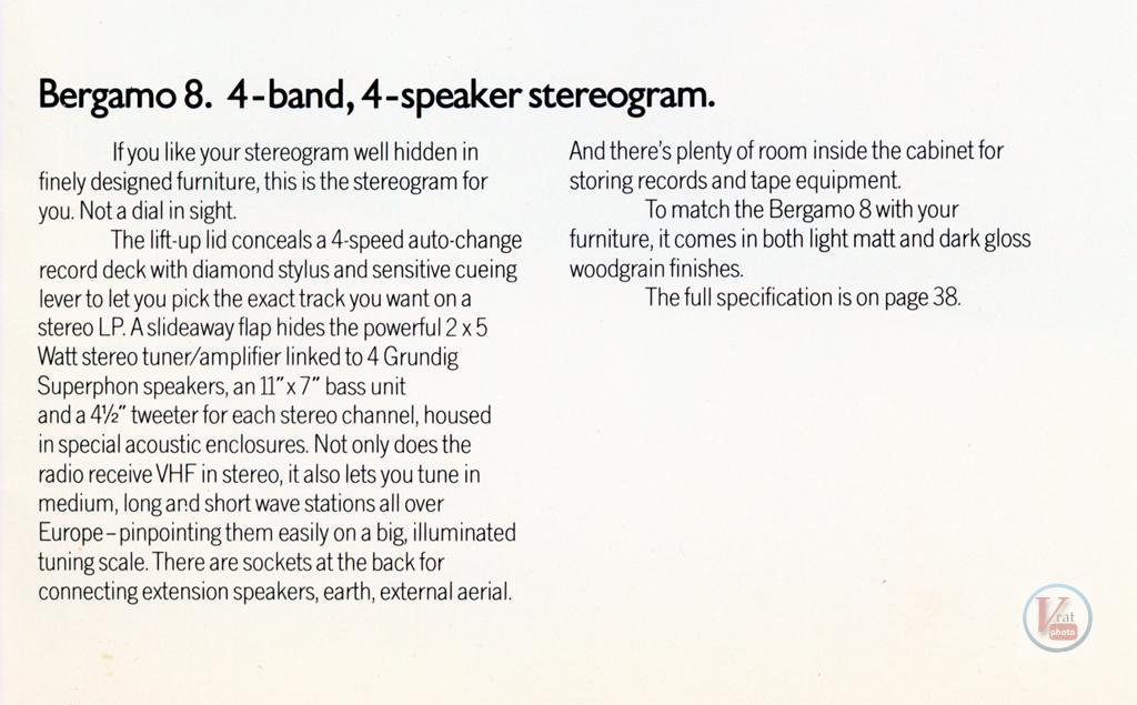 Grundig RadioGrams 7