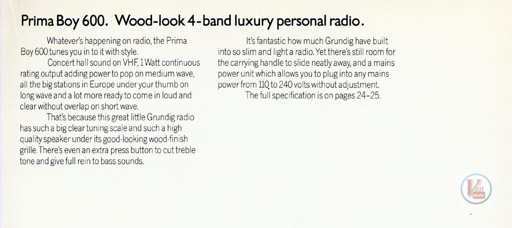 Grundig Radio 67