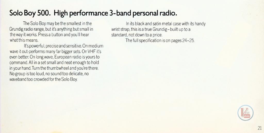 Grundig Radio 71