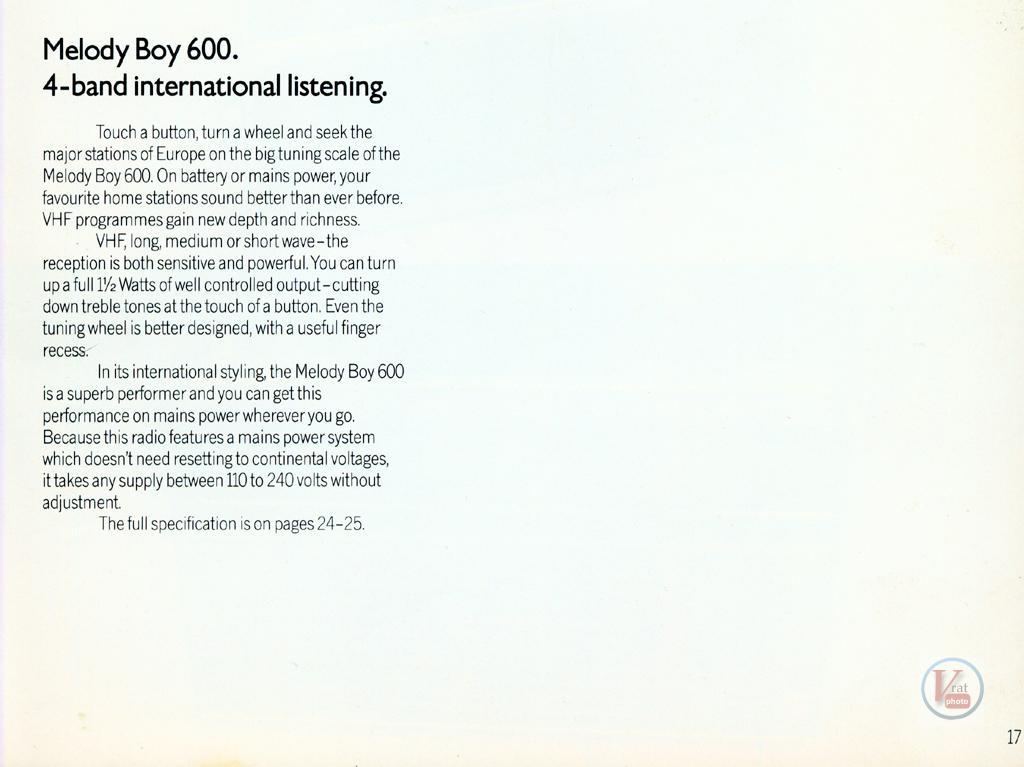 Grundig Radio 59