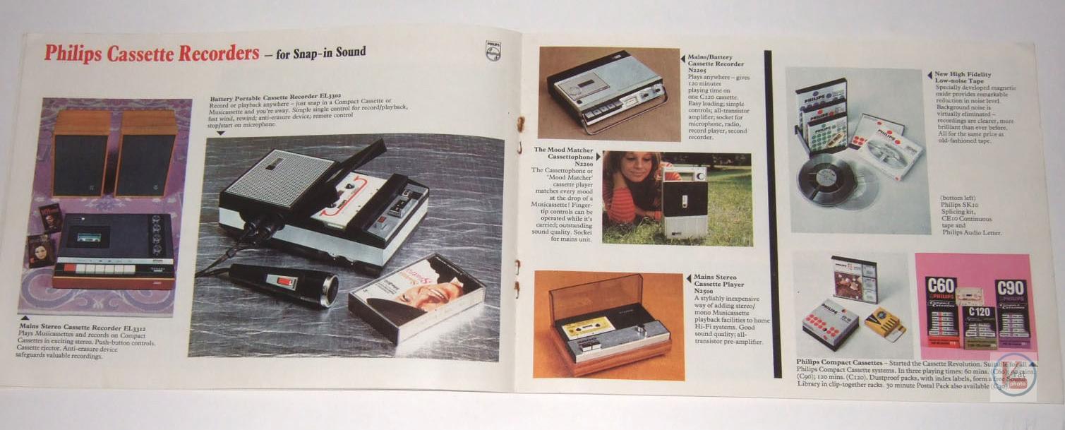 Philips Cassette 4