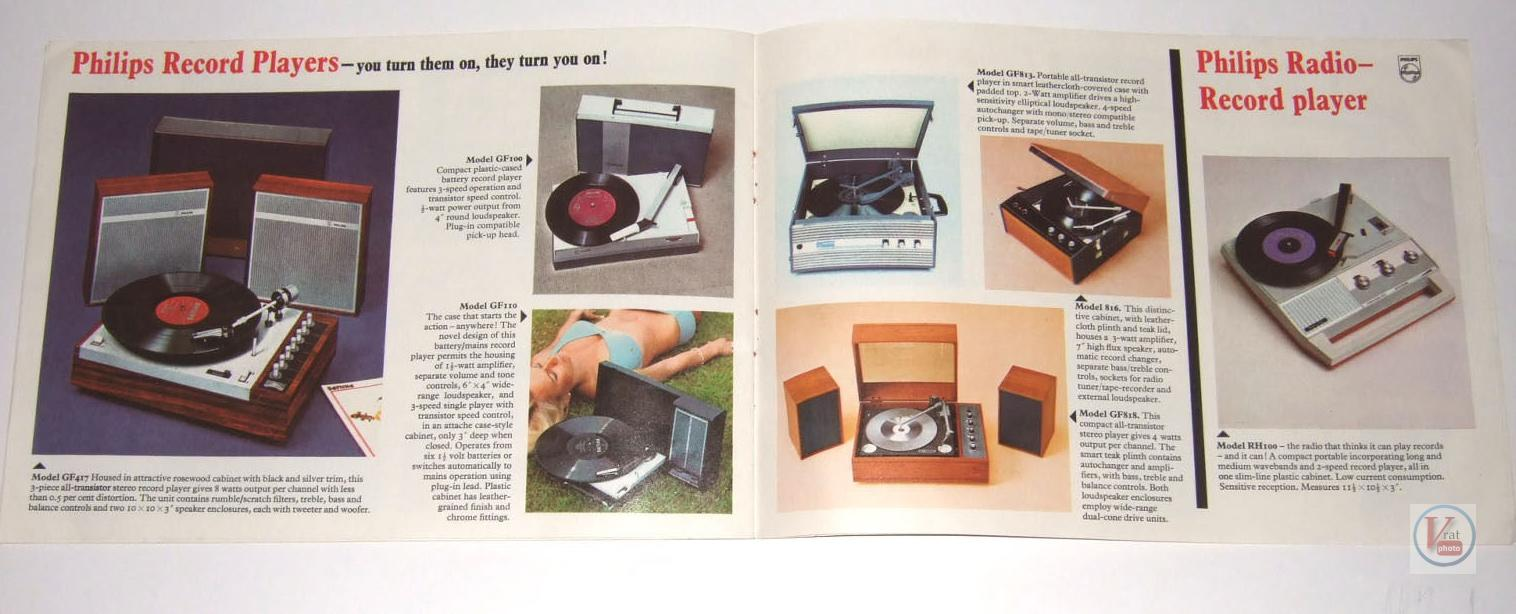 Philips Record Player 3