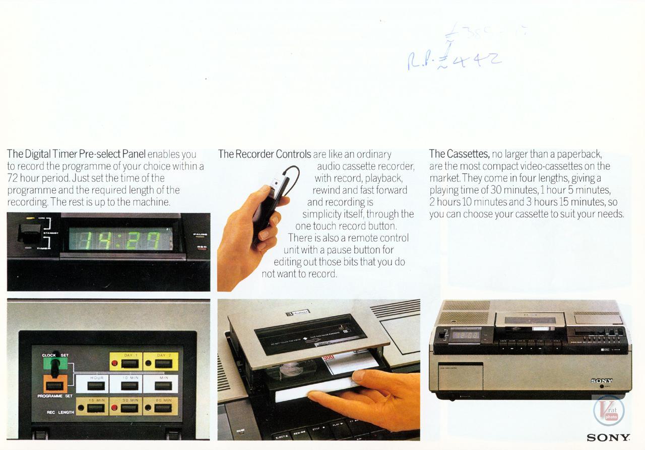 Sony Betamax VCR 26