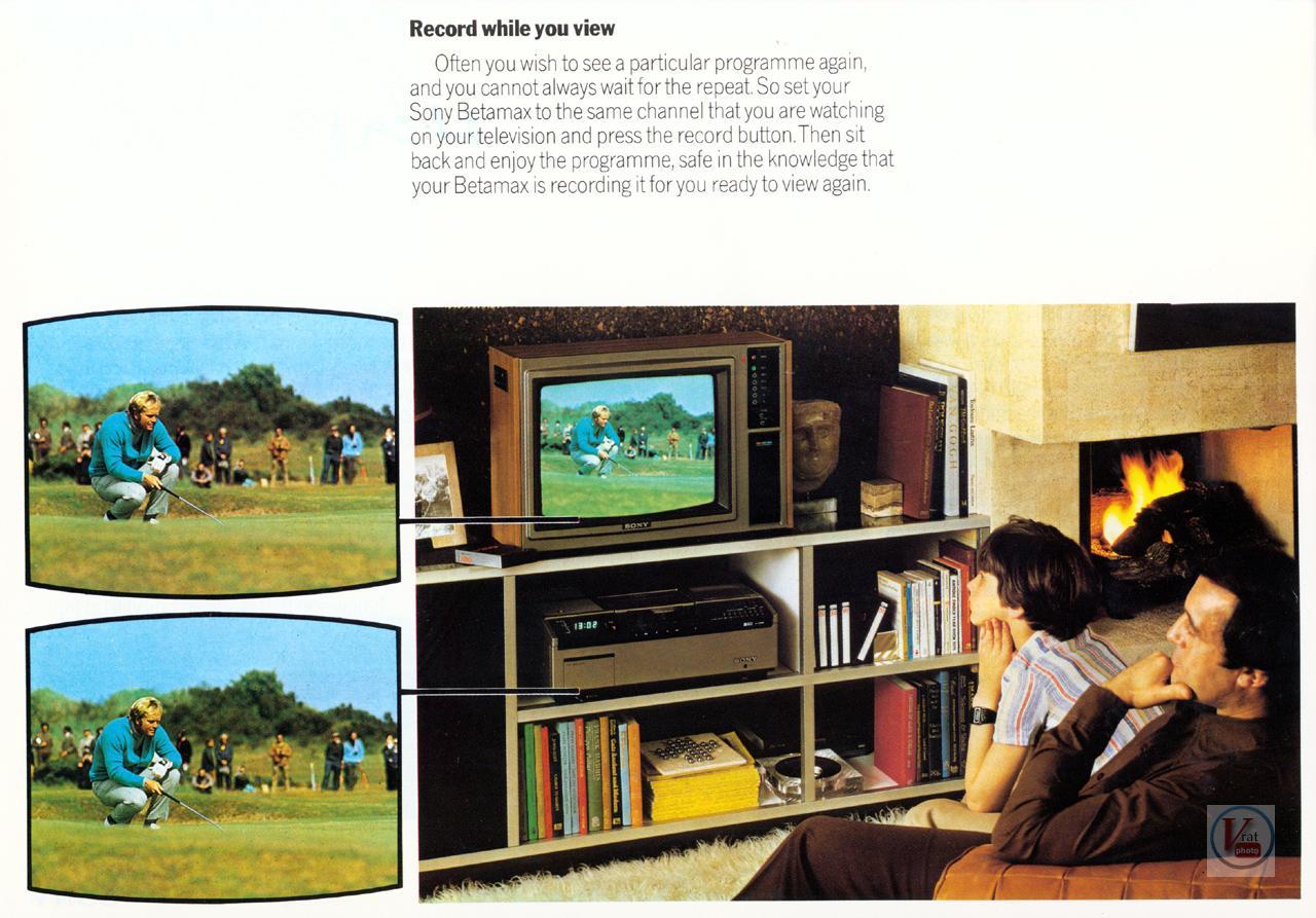 Sony Betamax VCR 5