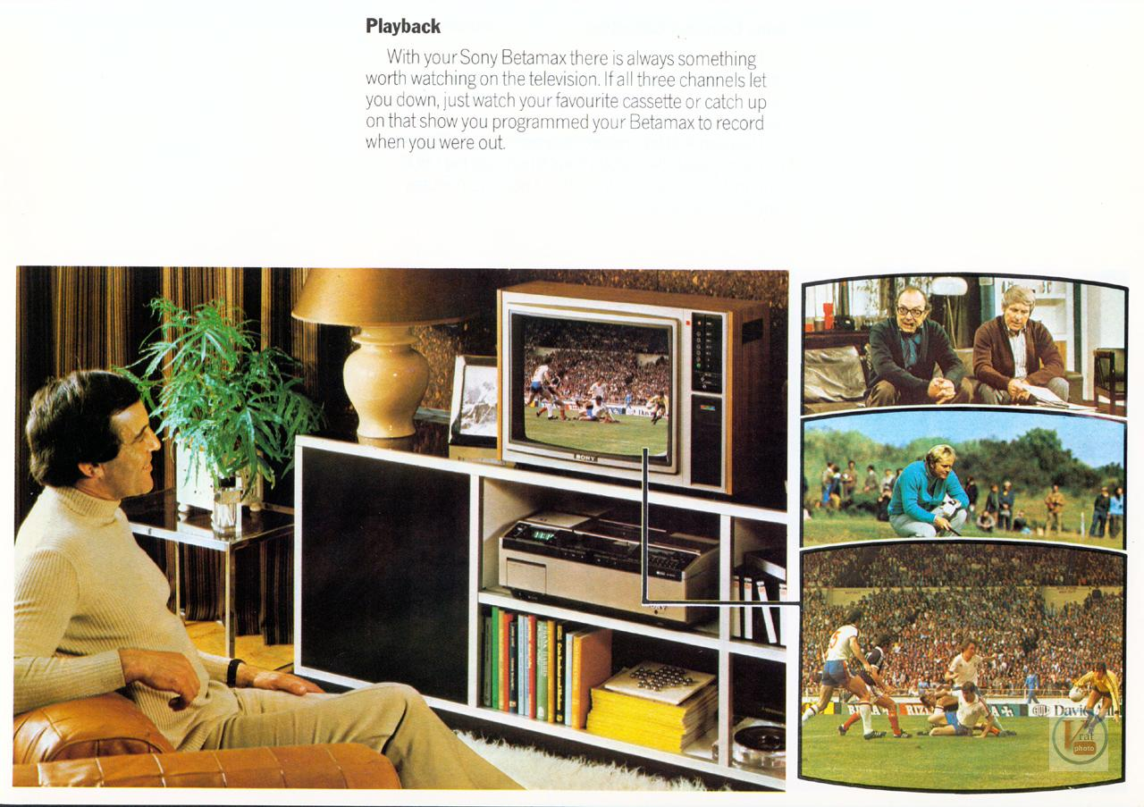 Sony Betamax VCR 8