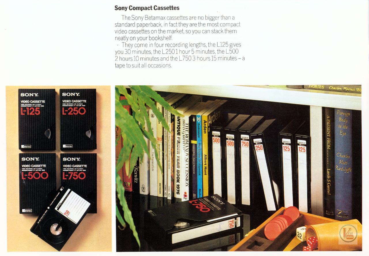 Sony Betamax VCR 9